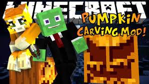 Minecraft Pumpkin Stencils by Minecraft Pumpkin Carving Mod Carve Any Design Mod Showcase