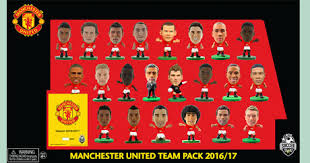Limited Edition 2016 17 Squad Pack Manchester United 2017