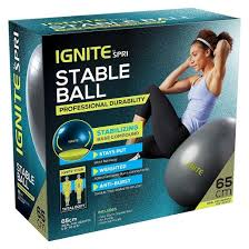 Physio Ball Chair Base by Ignite By Spri 65cm Stable Ball Target