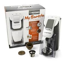 K Cup Compatible Brewer My Barista Personal Single