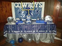 Dallas Cowboys Room Decor Ideas by Dallas Cowboys Football Birthday Party Ideas Football Birthday