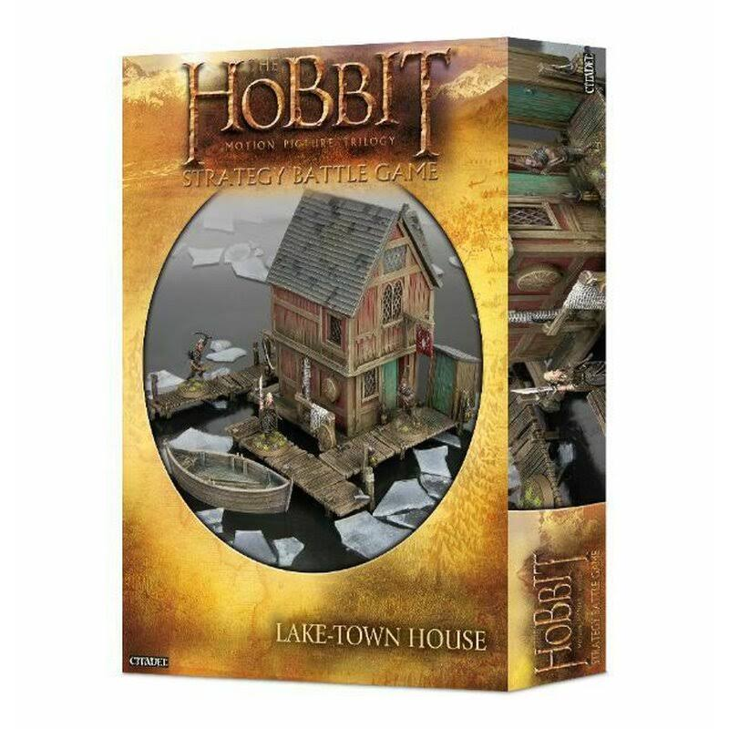 Games Workshop Lake Town House The Hobbit Strategy Battle Games