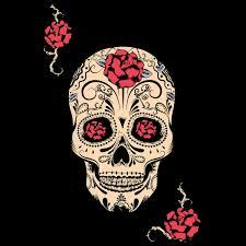 Tete De Mort Mexicaine Dessin tatouage t te de mort mexicaine my