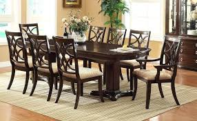 Dining Room Set 8 Chairs Elegant Formal Sets For With Long Table Mahogany