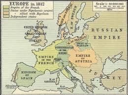 Map Europe Napoleonelba On FileEurope In 1812PNG