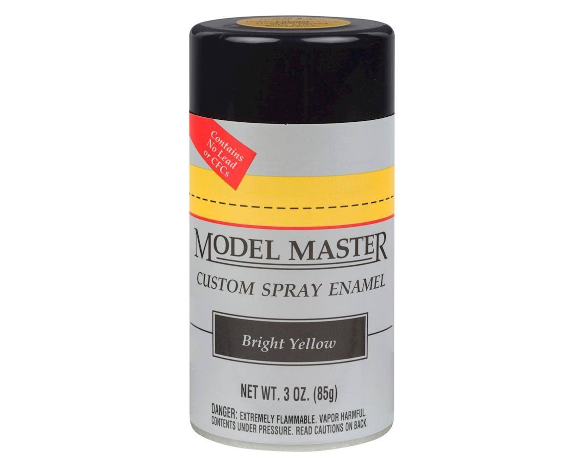Testors Model Master Custome Spray Enamel - Bright Yellow