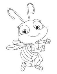 Free Printable Baby Honey Bee Coloring Book Pages For Kids