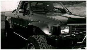 100 Truck Flares Bushwacker 3101011 CutOut Rear Fender Fits 8488 Pickup EBay
