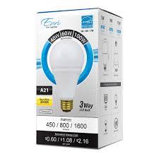 a21 led bulb 17 watt dimmable 100w equiv 1600 lumens by euri