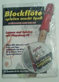 grundlagen blockflöte spielen macht spaß mit playalong cd
