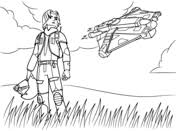 Related Coloring Pages Star Wars Rebel