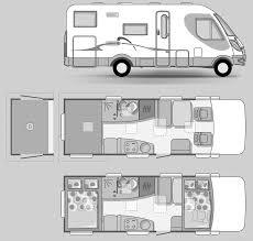 Good Rv Blueprints 9 Adria RV Vision 1 707 SG Bus Concept