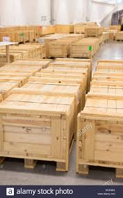 Crates In Warehouse Stock Photo Royalty Free Image 79329442