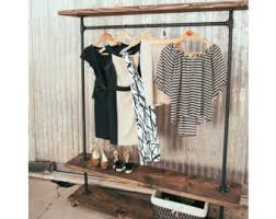 Decorative Clothes Rack Australia by Clothing Rack Etsy