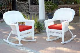 2-Piece Ariel White Resin Wicker Patio Rocker Chairs Furniture Set - Red  Cushions - 31556321 The Gripper 2piece Delightfill Rocking Chair Cushion Set Patio Festival Metal Outdoor With Beige Cushions 2pack Fniture Add Comfort And Style To Your Favorite Nuna Wood W Of 2 By Christopher Knight Home Details About Klear Vu Easy Care Piece Maracay Head Java Wicker Enstver Bistro 2piece Seating With Thickened Blue And Brown Amish Bentwood Rocking Chair Augustinathetfordco Splendid Comfortable Chairs Nursing Wooden Luxury Review Phi Villa 3piece