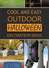 Outdoor Halloween Decorations Diy by Diy Outdoor Halloween Decorations Designcorner