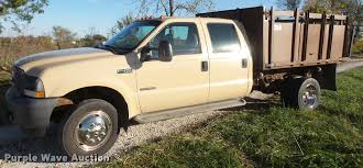 2004 Ford F450 Super Duty Crew Cab Flatbed Dump Truck | Item... Awesome 2000 Ford F250 Flatbed Dump Truck Freightliner Flatbed Dump Truck For Sale 1238 Keven Moore Old Dump Truck Is Missing No More Thanks To Power Of 2002 Lvo Vhd 133254 1988 Mack Scissors Lift 2005 Gmc C8500 24 With Hendrickson Suspension Steeland Alinum Body Welding And Metal Fabrication Used Ford F650 In 91052 Used Trucks Fresno Ca Bodies For Sale Lucky Collector Car Auctions Lot 508 1950 Chevrolet