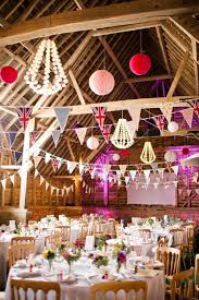 Pink Barn Wedding With British Flamingo Details Could Be Eng Aus And Maur Flags
