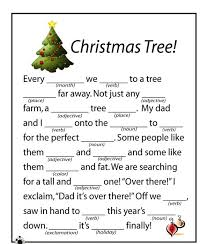 Halloween Mad Libs Free by Free Christmas Printables For Children Halloween Arts Free