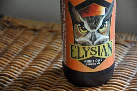 Elysian Night Owl Pumpkin Ale by November 2009 Near And Yonder