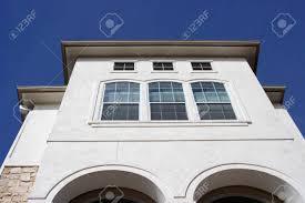 100 Modern Stucco House A Modern Stucco House Reaching Into The Blue Sky