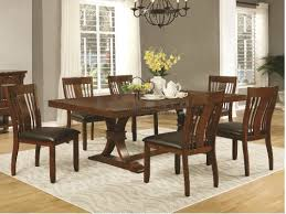 Seven Piece Dining Room Set by Affordable Casual Dining Room Sets Seaboard Bedding And Furniture