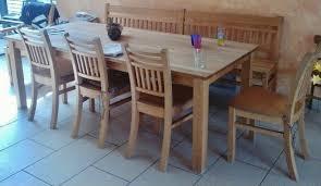 esszimmer buche massiv buffetschrank esstisch stühle sitzbank