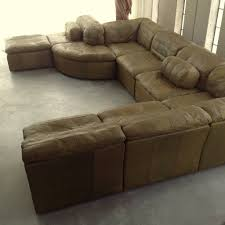 Awesome Olive Green Leather Sofa 60 About Remodel With