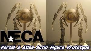 Portal 2 Sentry Turret Usb Desk Defender by Neca Portal 2 Atlas Action Figure Prototype Youtube