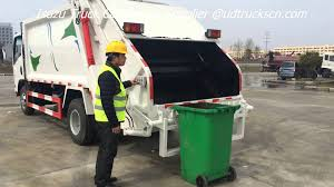 2015 Japanese ISUZU Garbage Truck For Sale Rear Loader Compactor ...