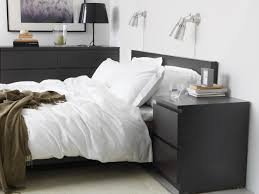 Set Of Bedside Table Lamps by Malm 2 Drawer Chest Black Brown Ikea Malm Malm And Bedrooms