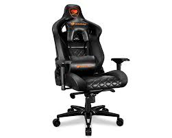 Cougar Armor Titan (Black) Ultimate Gaming Chair With Premium Breathable  PVC Leather, 352.0 Lbs. Support, 170 Degree Reclining