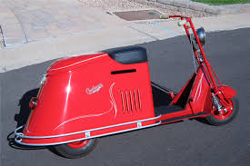 1947 CUSHMAN STEP THROUGH HALF SIZE SCOOTER