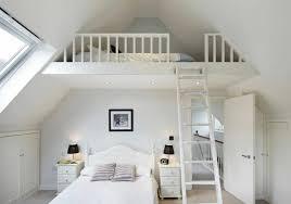 chambre lit mezzanine déco chambre avec lit mezzanine