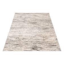 teppichläufer modern beige gepunktete konturen 7406 80x150