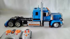 100 Lego Remote Control Truck LEGO IDEAS Product Ideas Peterbilt 389