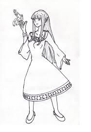 Princess Zelda Coloring Pages