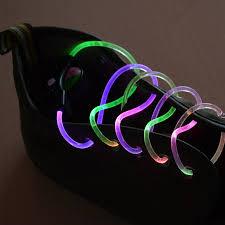 1 pair string flash led light shoe shoelaces glow stick