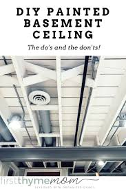 Affordable Basement Ceiling Ideas by Best 25 Exposed Basement Ceiling Ideas On Pinterest Unfinished