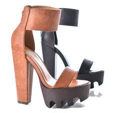 thick platform heels qu heel