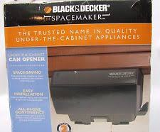 Black And Decker Under Counter Can Opener by Black U0026 Decker Can Openers And Crushers Ebay