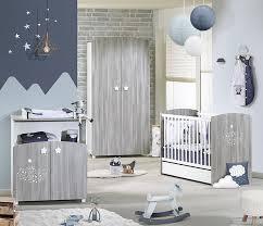 chambre sauthon bleu lit bébé à barreaux 120x60 hugo de sauthon sélection sauthon