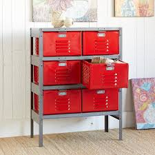 RED HOT 6-BIN LOCKER -- Our Vintage Steel Locker May Have Served ... Decor Pbteen Mirror Rooms Pbteens Isabella Rose Taylor For Pbteen Summer Lbook 38 6704 997 3 Drawer Desk Gif With Pottery Barn Locker Fniture How To Decorate A School Less Mylitter One Deal At 25 Unique Girls Locker Ideas On Pinterest Girl Teen Bedding For Bedrooms Dorm Best Bedroom Door Diy Room Decore Set Ebth 20 Back To Decorating Accsories Vogue
