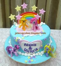 Jenn Cupcakes & Muffins My Little Pony Cake