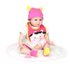 22inch Reborn Baby Doll Hecho A Mano Lifelike Recién Nacido Chica