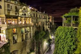 100 Houses In Sorrento Image Italy Street Night Time Cities Building