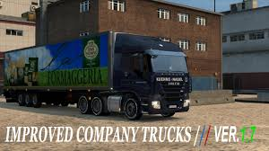 IMPROVED COMPANY TRUCKS V1.7 | ETS2 Mods | Euro Truck Simulator 2 ... Small To Medium Sized Local Trucking Companies Hiring Quality Truck Company New Commercial Trucks Find The Best Ford Pickup Chassis How Start A Dump Garrido Improved Company Trucks 14 Mod For Ets 2 And Trucker Indicted For Causing Fatal 2015 Crash Mechansservice Curry Supply V 20 Now Cdla Otr Truc Sunstate Carriers Chiefland Fl Conway