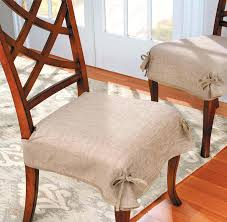 Room Chair Pads With Ruffles Dining
