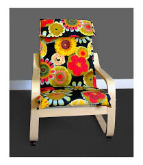 Ikea Poang Chair Cover Green by Girls Flowers Ikea Poang Chair Cover Girls Floral Print Ikea