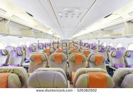 Emirates Airbus A380 Interior Stock Royalty Free